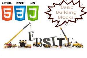 What are the Basic Building Blocks for Creating a Website