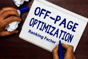 Top 5 off page SEO ranking factors