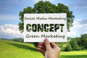 What is the new development of social media marketing and green marketing?